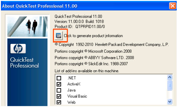 QTP HP QuickTest Professional 110 - ALL Patches